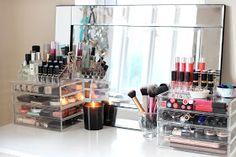 I COVET THEE: Make Up Collection & Storage: Muji Drawer Tour