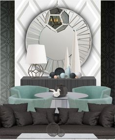 """""""Geometric Space"""" by cb-hula on Polyvore"""