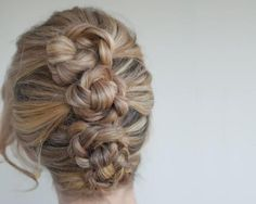 easy hair up dos - Google Search