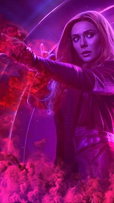 marvel avengers wallpaper Animated Video Gif created by Sherilynn Gould Avengers Infinity War Endgame Scarlet Witch Marvel Avengers, Wanda Marvel, Marvel Fan, Marvel Dc Comics, Marvel Heroes, Scarlet Witch Marvel, Marvel Films, Marvel Characters, Scarlet Witch
