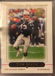 2005 Topps Tom Brady 10 New England Patriots Near Mint Combined s H | eBay