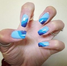 Different blue
