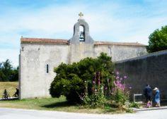 Ile d'Aix #Eglise #RochefortOcean Charente Maritime Poitou Charentes