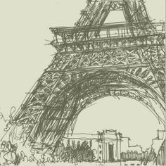 Pic of the day :   Link in profile  I am a french urban sketcher and I draw in any place I go. Here it was near Eiffel Tower in Paris. I like metal structures and it was a challenge. But in fact it is much more easy than it seems. This monument is a triangle and each element is very logical. I drew in 30 minutes because I had an appointment not far away. Je suis une urban sketcher française et je dessine partout où je vais. Ici cétait près de la Tour Eiffel. Jaime les architectures…