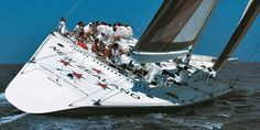 New Zealand Big Boat - America's Cup 1988 (by Carlo Borlenghi)