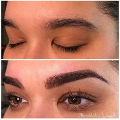 That arch  microblading my designer @microblading_by_tuyetle of #currieglenmills & #curriewayne!