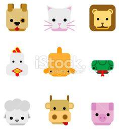 flat animals