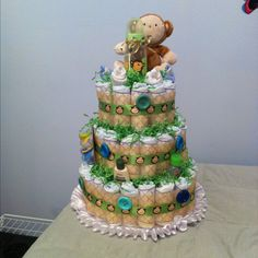 So,  Iwonder if I could use something besides diapers to do this for a birthday party.