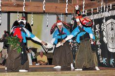 宮古市 黒森神社例大祭 笹割りの舞