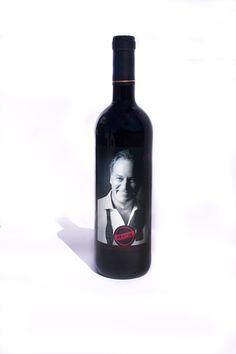 Diseño etiqueta vino para Bertín Osborne Selección