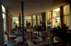 Casa de vidro Int . Lina Bo Bardi