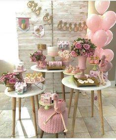 21 Ideas For Baby Shower Party Deko Deco Baby Shower, Girl Shower, Shower Party, Baby Shower Parties, Baby Shower Themes, Bridal Shower, Baby Showers, Party Decoration, Birthday Decorations