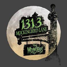 The Munsters 1313 Mockingbird Lane T-Shirt