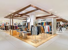 Mensfloor redesign at Paragon Department Store by HMKM, Bangkok – Thailand » Retail Design Blog