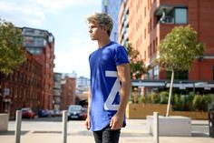 Superside T-Shirt Navy  www.zerosevenclothing.com  #zeroseven #mensfashion #fashion