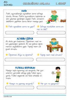 Turkish Lessons, Learn Turkish Language, Videos Funny, Grade 1, Kids Learning, Study, Education, Reading, Words