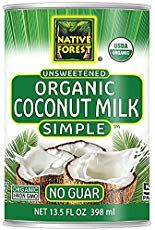 Native Forest Simple Organic Unsweetened Coconut Milk, Ounce Cans (Pack of Organic Coconut Cream, Easy Stuffed Cabbage, Olive Garden Alfredo Sauce, Cake For Husband, Unsweetened Coconut Milk, Coconut Cupcakes, Thing 1, Gourmet Recipes, Milk Recipes