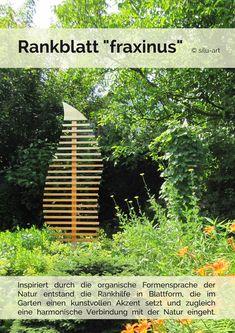 Gartendekoration - Pflanzen Rankhilfe Spalier Rankgerüst Rankgitter - ein Designerstück von garten-liebe bei DaWanda