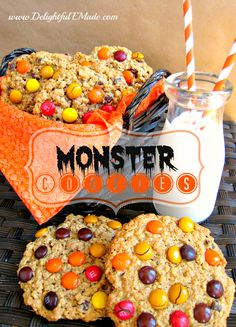 Happy National Homemade Cookie Day!  Monster Cookies to Celebrate