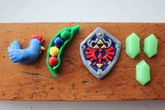 The Adventures of Arcly and Elo: Geekery2 (Polymer Clay Zelda Magnets)