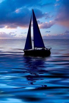 Royal Blue Ocean