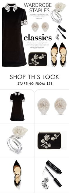 """Wardrobe Staples"" by littlehjewelry ❤ liked on Polyvore featuring macgraw, Kate Spade, Christian Louboutin, Bobbi Brown Cosmetics, contestentry, WardrobeStaples, pearljewelry and littlehjewelry"