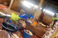 Frying Akara (bean cake)   Araromi Obu Ondo State Nigeria   #JujuFilms #Nigeria #Akara #BeanCake #Araromi #Ondo #Africa