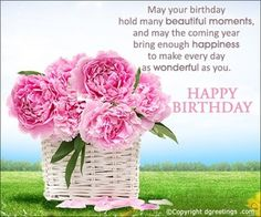 Are you looking for inspiration for happy birthday wishes?Browse around this site for perfect happy birthday ideas.May the this special day bring you happy memories. Happy Birthday Woman, Happy Birthday Special Lady, Happy Birthday Religious, Happy Birthday Beautiful Lady, Birthday Greetings For Women, Happy Birthday Wishes Images, Happy Birthday Flower, Happy Birthday Friend, Birthday Wishes Quotes
