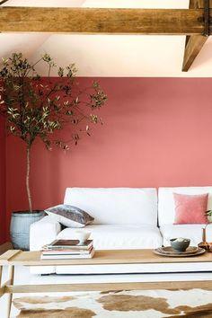 Jouez le contraste des couleurs au salon