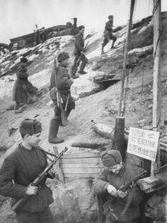 Soviet Ditches around Stalingrad