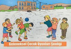 Yöresel Çocuk Oyunları Şenliği Başlıyor - Edebiyat Haber Portalı