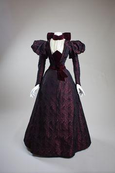 1890s Dress, United States (California) via San Diego History Center