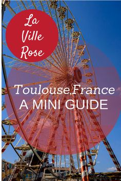 Dubbed La Ville Rose (The Pink City) for its many pink-hued brick buildings, Toulouse has so much to offer traveling families.  We can honestly say, it is one of the most attractive places we've ever visited! Here's how we made the most of our time in Toulouse. A mini guide to help you plan an amazing family trip.