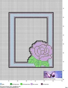 Canvas Picture Frames, Canvas Frame, Plastic Canvas Crafts, Plastic Canvas Patterns, Needlepoint Patterns, Cross Stitch Patterns, Pc Photo, Heart Frame, Bead Art