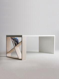兼具收納的巧思桌腳 | MyDesy 淘靈感