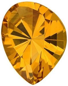 One of a Kind Citrine Gemstone for Custom Jewelry Beautiful Golden Color, Fancy Cut, 9.29 carats