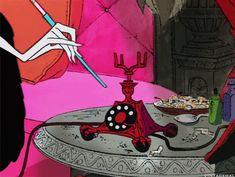 Stills & GIFs from a wide variety of Disney movies, shorts, TV shows and more. Arte Disney, Disney Art, Cartoon Pics, Cartoon Characters, Arte Horror, Old Cartoons, Aesthetic Gif, Vintage Cartoon, Disney Villains