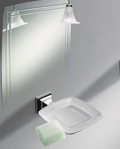 porta sapone portofino by colombo design in foto presentato il porta sapone da parete realizzato
