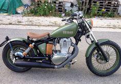 (notitle) - else - Motos Honda Bobber, Sportster Motorcycle, Bobber Bikes, Chopper Motorcycle, Bobber Chopper, Moto Bike, Motorcycle Clubs, Motorcycle Style, Motorcycle Design
