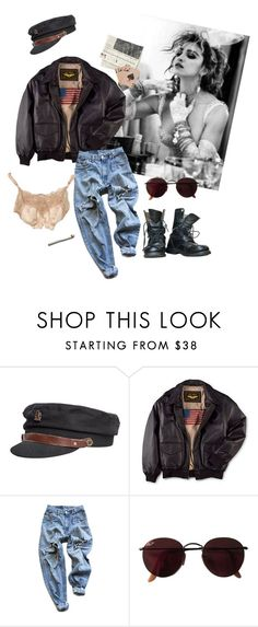 """""""Desperately Seeking Susan"""" by cassie-paulke ❤ liked on Polyvore featuring Fallenbrokenstreet, Levi's, Ray-Ban and vintage"""