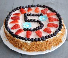 Sanne mocht kiezen wat voor een taart ze wilde voor haar verjaardag. Ze wilde er graag één met aardbeien. Ik opperde een kwarktaart met aardbeien. Maar nee, dat moest het niet zijn. Het idee van ee…