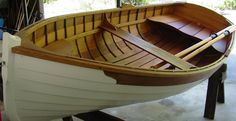 10 foot Lapstrake Acorn Tender. Classically designed. Hand crafted. Clinker Style. Red cedar lapstrake over oak ribs.