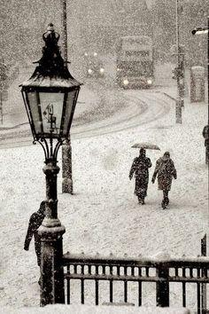 Snowstorm, Trafalgar ♥