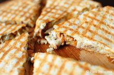 Pani Smaczna – Quesadilla z kurkami i kurczakiem Quesadilla, Grilling, Bread, Food, Boards, Meal, Crickets, Essen, Hoods