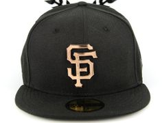 San Francisco Giants Metal Badge 59Fifty Fitted cap by NEW ERA x MLB