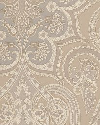 Tapet Mulberry Paisley Silver/Taupe från Mulberry