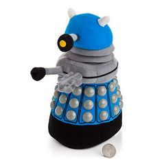 This soft dalek just wants to cuddle! EXCUDDLIATE! EXCUDDLIATE! EXCUDDLIATE! #squishable #cutengeeky