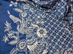 Batik tulis Pekalongan.  Private collection.