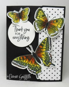Fancy Fold Cards, Folded Cards, Dawns Stamping Thoughts, Interactive Cards, 3d Cards, Butterfly Cards, Card Tutorials, Beautiful Butterflies