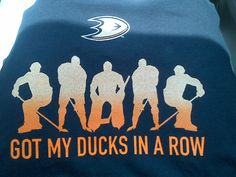 Awesome new shirt at the Ducks Team Store.